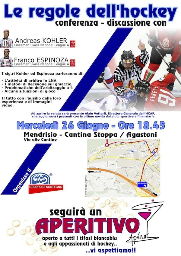 A4 - Flyer-ConferenzaLeRegoleHockey26.06